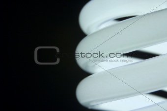 Close Up Of Energy Efficient Light Bulb