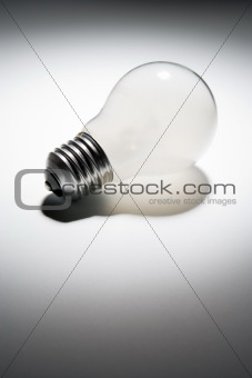 Unlit Light Bulb