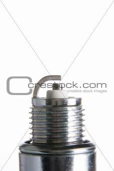Close up of spark plug