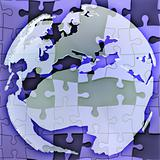 Map of Europe jigsaw