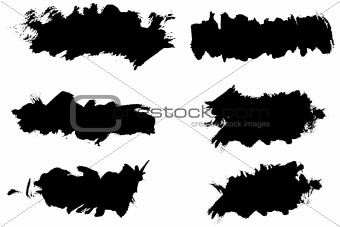 Grunge ink splat brush