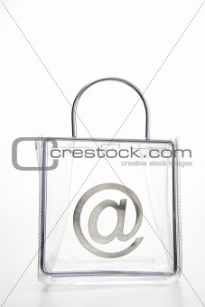 'At' Symbol In A Bag