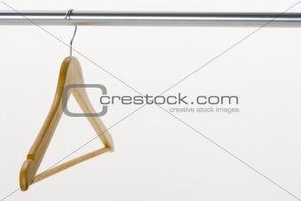 Single Coat Hanger On Rail