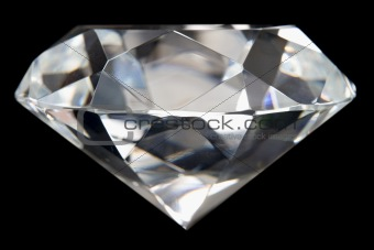 Close-Up Of Flawless Diamond