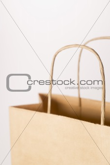 Close-Up Of Brown Paper Bag