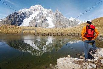 Hiker lake