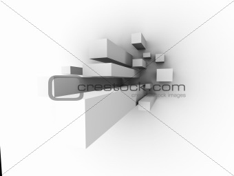 abstract business towers