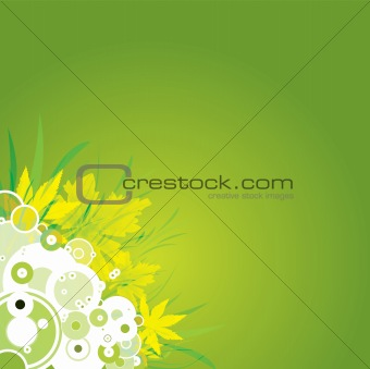 flower background leaf