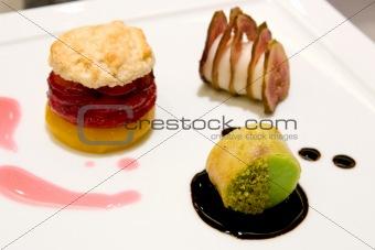 Three Desserts