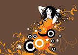 Orange Passion Girl