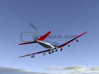 Plane Flying 61