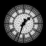 Big Ben silhouette