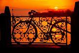 Bike silhouette, Venice