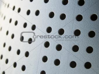 metal holes