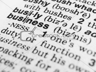business text