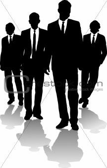 business men arrow
