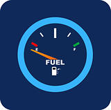 Vector Fuel Gauge