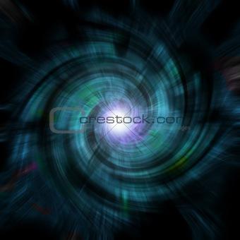 blue vortex spin