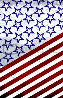 America: Red, white and blue