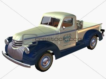 1941 Pickup Truck-Dairy