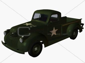 1941 Pickup Truck-Military