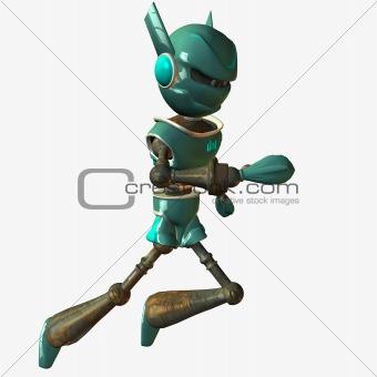 Toonimal Robot-Runner