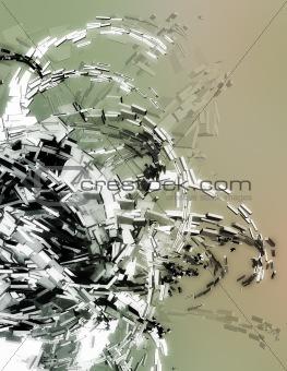 Three dimensional illustration