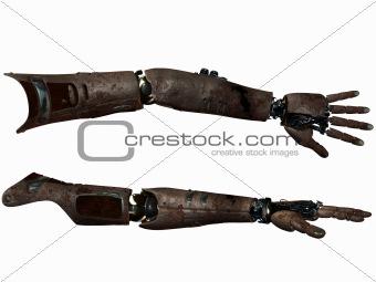Cyber Arm-Rusty Metal