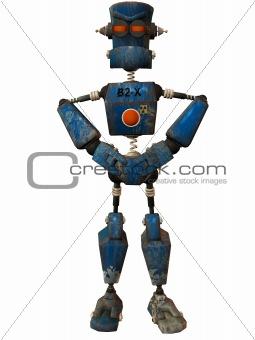 Toon Bot Klank-Hands on Hips