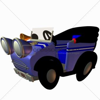 Toon Buggy-Cop