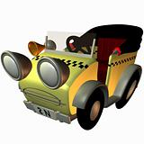 Toon Buggy-Taxi