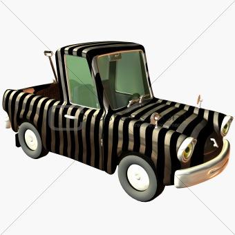 Toon Pickup Zebra