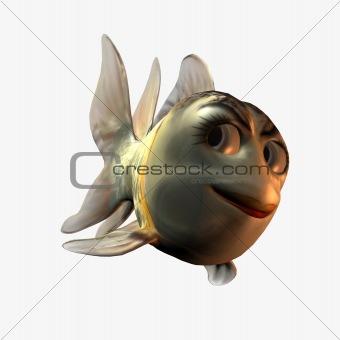 Toonimal Fish-Checky