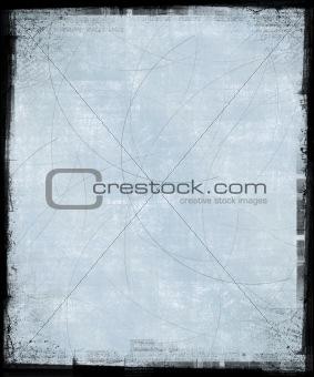 Pale Blue Grunge Background