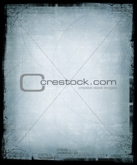 Pale Blue Grunge Background