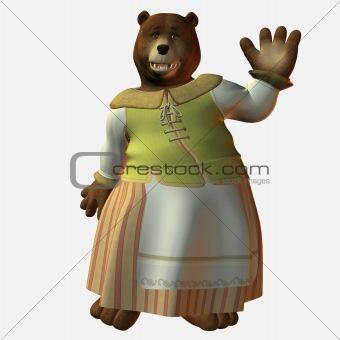 Bear Mama - Wavin