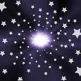 Light and star effect