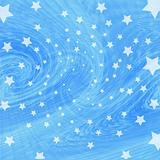 Blue twist with stars