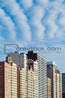 City Skyline Closeup