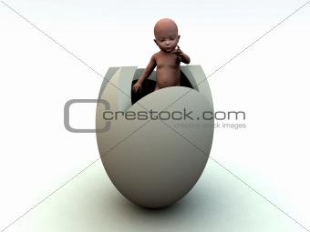 Baby Egg 5