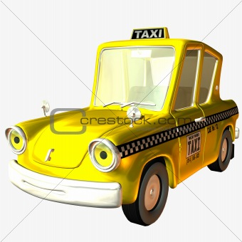 Toon Car Taxi
