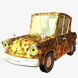 Toon Car Wild Pride