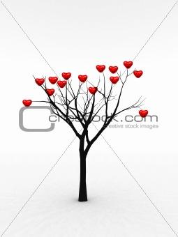 Single Tree With Love 1