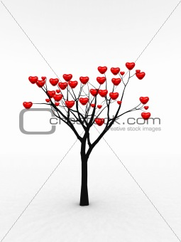 Single Tree With Love 6