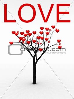 Single Tree With Love 22