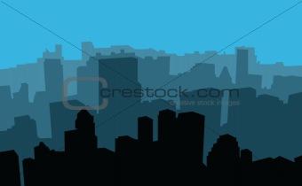 city scape