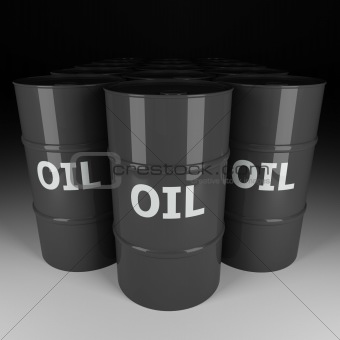 oil barrel background