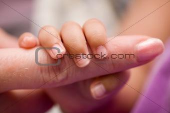 Tiny fingers