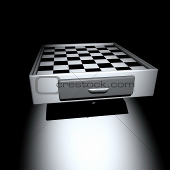3d Chess table