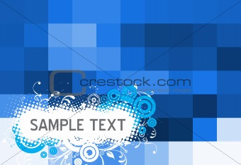 Abstractmalti floral background